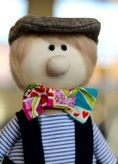 Pierre Back to School Fabric Doll